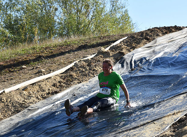 course obstacle zone boue mudgliss